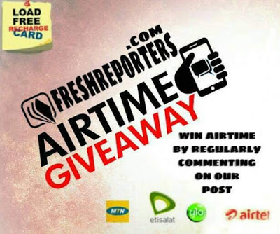 Get Airtime Recharge Every Week On FreshReporters News Media
