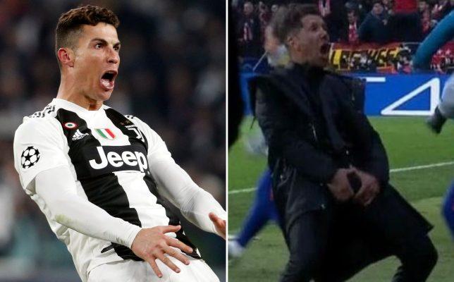 Christiano Ronaldo penalized