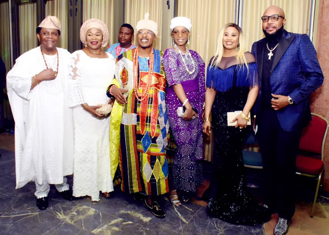 Photos of E-Money And Oluwo Of Iwoland At President Buhari's Second Term Inauguration