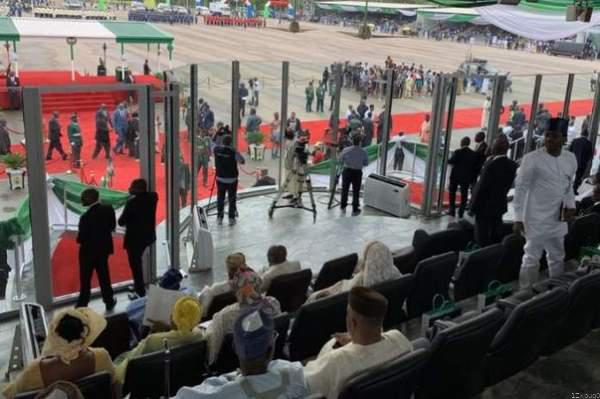 BREAKING: Buhari Inaugurated For Second Term