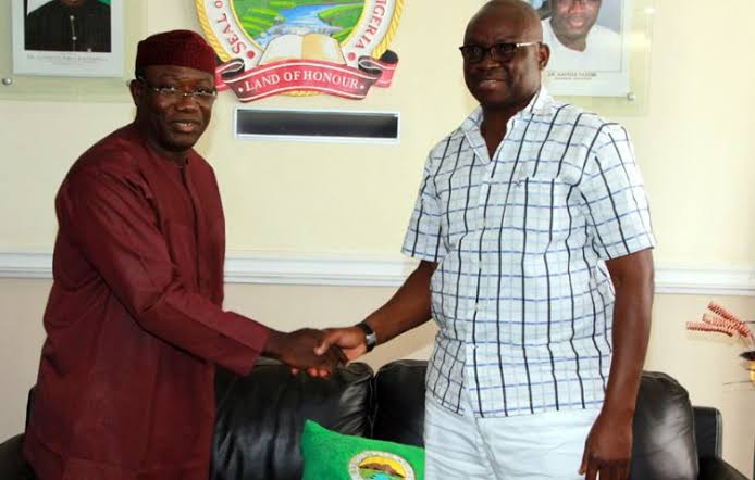 See Fayose's Message To Fayemi On His Election As NGF Chairman