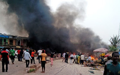 Fire destroys Benue biggest market