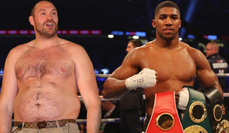 Tyson Fury Tells Anthony Joshua Rest Up, Recover, Regroup And Come Again