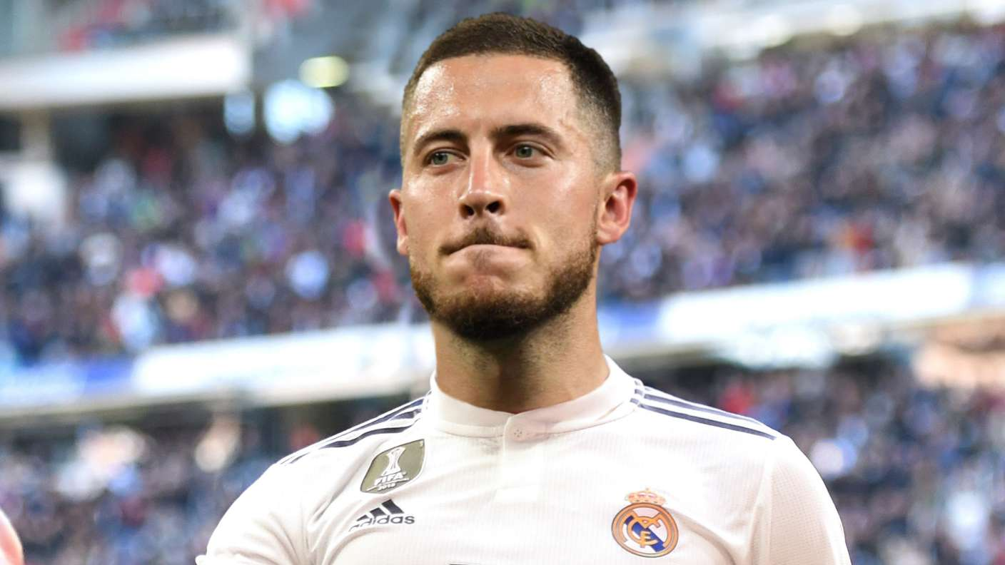 Eden Hazard completes €100m move to Real Madrid