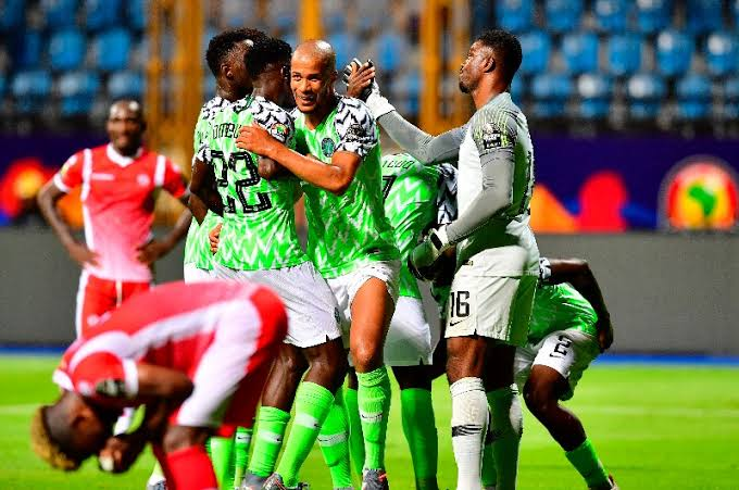 Here is the Super Eagles 'starting XI' against Guinea in AFCON 2019