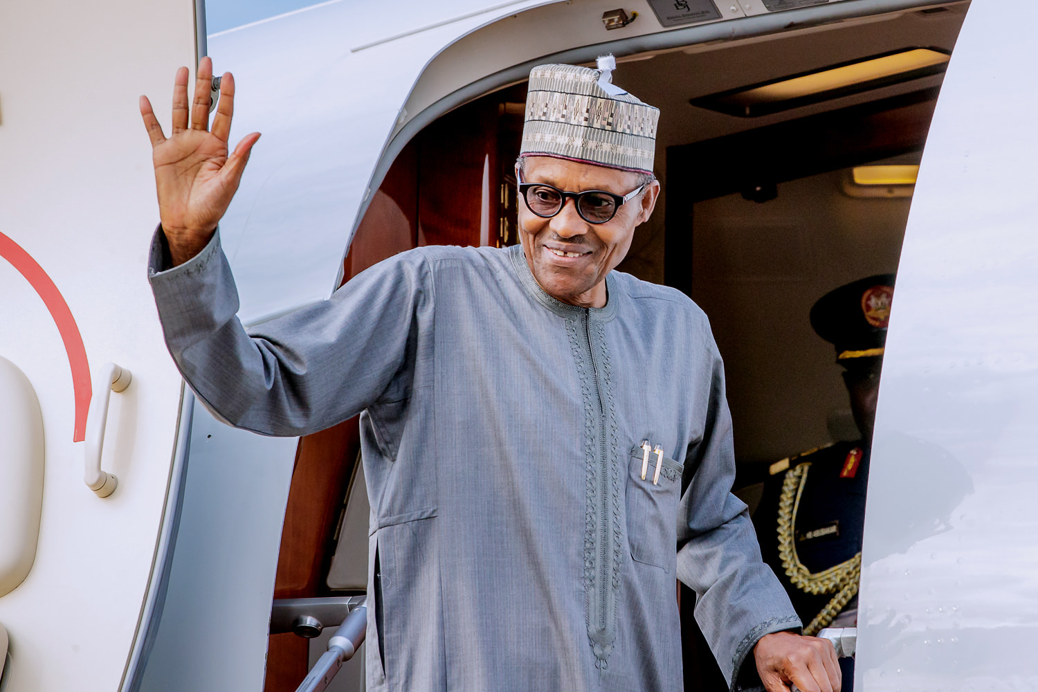 Photos: President Buhari Departs Abuja For Japan