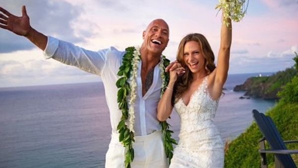 Dwayne Johnson married