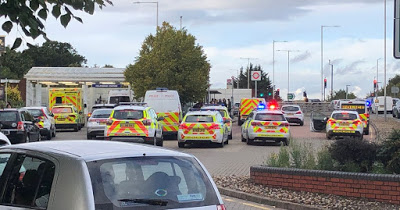 Hillingdon stabbing: Man stabbed to death in front of commuters at London underground train station
