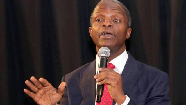 VP Osinbanjo: We Need Institution That Will Produce Cutting Edge AI Applications