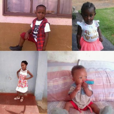 [PHOTOS] Four Children With Rat Poison in South Africa