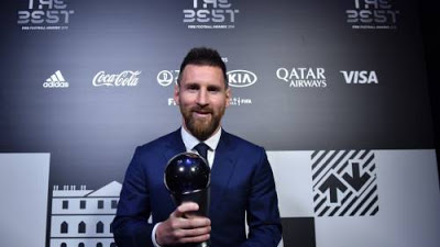 BREAKING: Lionel Messi Wins FIFA Player Of The Year