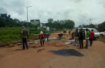 ARMA Begins Massive Repair Of Dilapidated Roads In Anambra