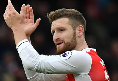 Star Defender Mustafi Speaks On Going To War With Arsenal (Read What He Said)