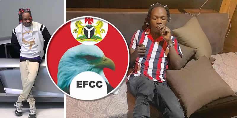 suspected fraudster and musician naira marley arrested by efcc on his birthday
