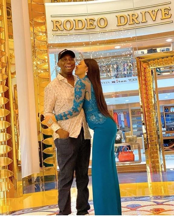 Loved Up Photo Of Regina Daniels And Husband Ned Nwoko As She Celebrate 19th Year In Dubai