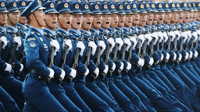 China Celebrates 70 Years, Flexes Military Muscle