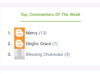 Top Commenters Of The Week - Giveaway!