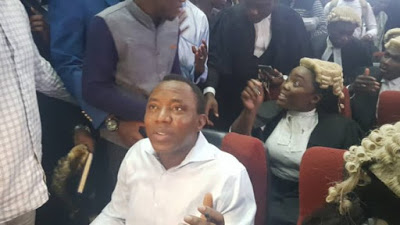 Watch Video: 'We Will Survive This, I Am Not Afraid,' Sowore Says In Court