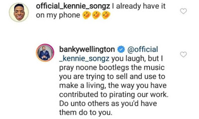 Banky W Reacts As An Upcoming Artiste Pirated His Work (MUST SEE)