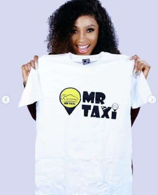 Mercy Eke Bags Mr Taxi Endorsement Deal (photos)