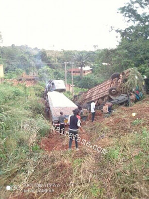 MIRACLE!!! Man Shares Graphic As He Survived A Ghastly Accident