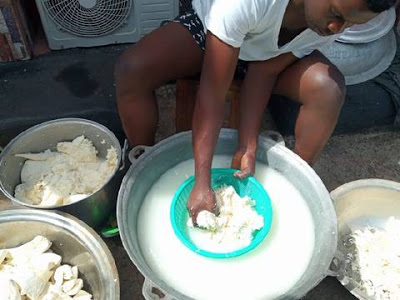 The Making Of Poisonous Fufu