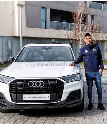 See Audi Cars Gifted To Real Madrid Players For Christmas (photos)