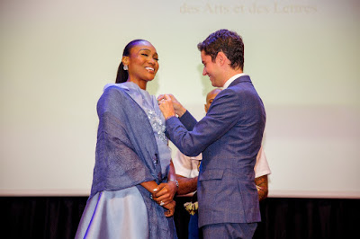 Vice Chairman Of Globacom, Bella Bags French Eminent National Honour