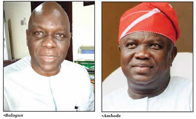Real Reasons Why Ambode Was Denied Second Term Ticket — Balogun, Lagos APC Chairman