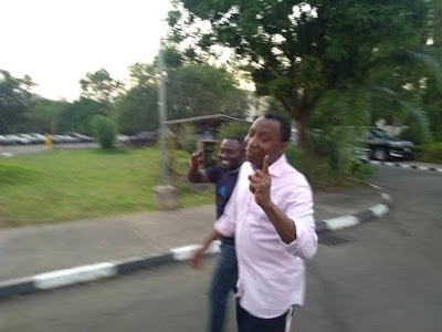 Finally, DSS Releases Sowore (Photos)