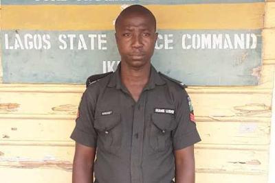 Police Officer Killed 39-Years Old Ramon Adeniji In Lagos