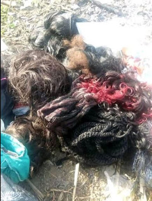 Lady Gives Her Life To Christ, Burns Her Make-Ups, Wigs & Trousers (Photos)