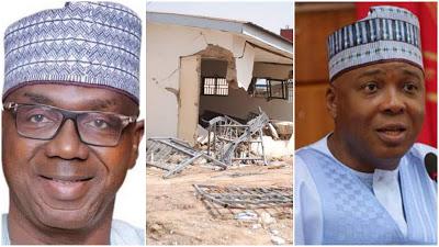 Why Saraki's House Was Demolished - Kwara Govt Reveals