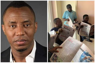 Sowore Reacts To Govt's Advert Omission, Urges Nigerians To Support PUNCH