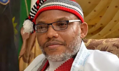 'I Was Wrong' - Nnamdi Kanu Apologises To Abia Police Commissioner, Okon