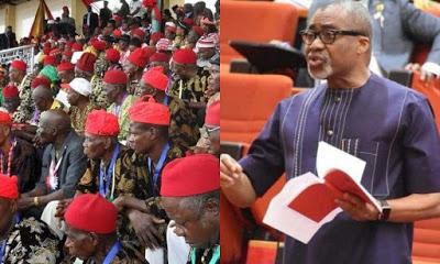 Ohanaeze Blasts Abaribe, Describe Call For Buhari's Resignation As Selfish