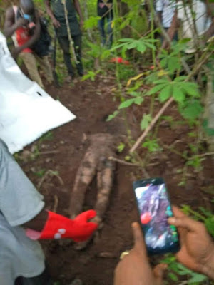 Disturbing Pictures: Man Killed Missing Brother Over N2m Land Deal