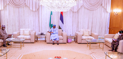 Buhari, PTF Delegation Meet In Abuja