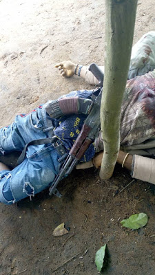 Disturbing Photos: Notorious Kidnapper And Cultist Killed In Imo