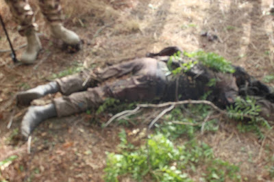 PHOTOS: Troops Kill Boko Haram/ISWAP Members, Injured Many In Monguno, Borno State