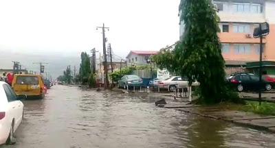 PHOTOS: Flood Hits Parts Of Lagos After Heavy Rains