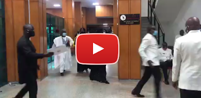 VIDEO: Senator Orji Uzor Kalu Returns To The Senate