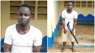 Police Nab Cult Member, Recover Firearm And Ammunition