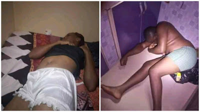 PHOTOS: Lovers On Drugs Overdose Found Dead Inside A Room In Imo