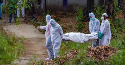 India Records 1, 611 COVID-19 Deaths In One Day