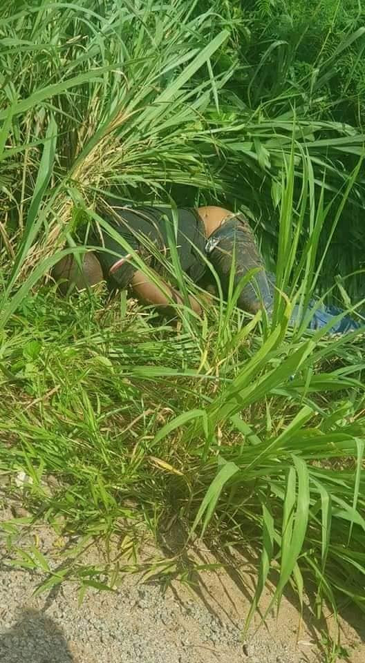 Disturbing Photo: Body Of A Man Found In A Bush With His Hands And Legs Tied