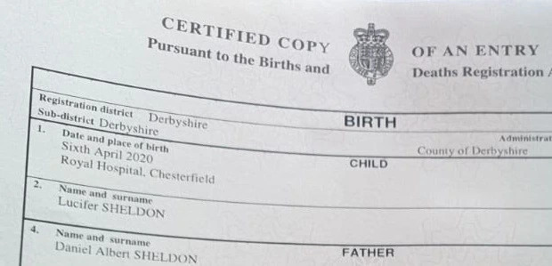 Couple Name Their Son 'Lucifer'