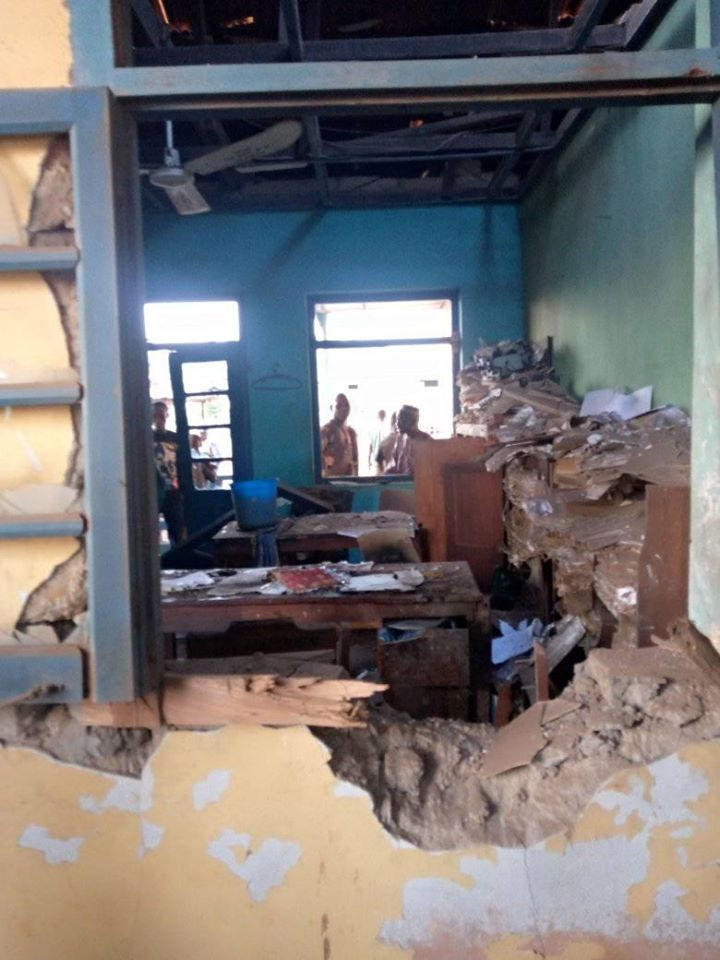 Mob Set 3 Robbers Ablaze In Oyo (Photos)