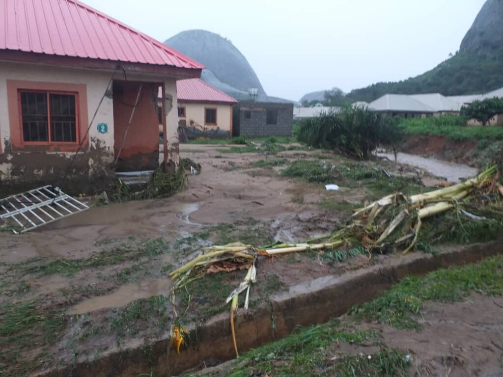 Flood Wreak Havoc In Abuja, 4 Dead, Property Destroyed (Video)