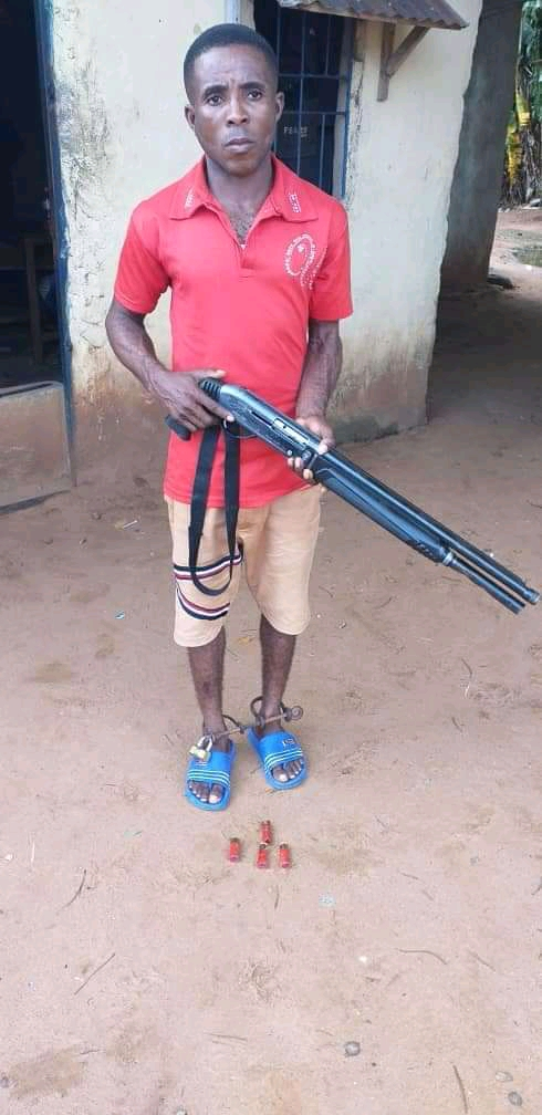 Police Arrests Man For Shooting His Friend Over N1,000 Debt In Anambra (Photos)